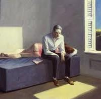 Il était une petite fois, pendant la canicule, un type qui était assis devant une fenêtre ouverte.