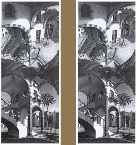 Escher - Haut et bas et moi - 2 images(450x476)