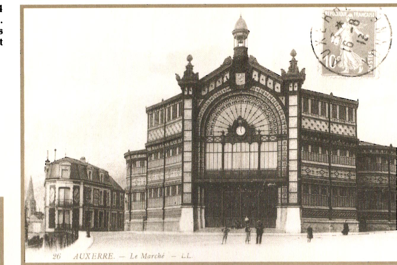 Marché couvert d'Auxerre